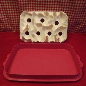 Vintage Tupperware Jello Mold/Slab Cookie …
